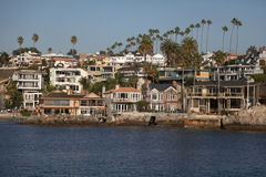 Newport Beach domy Obraz Royalty Free