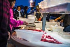 Newport Beach Dory Fleet Fish Market Royalty Free Stock Images