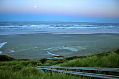 Newport beach in Oregon Stock Photos