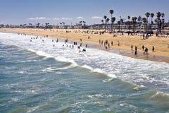 Newport Beach Południe Zdjęcie Stock