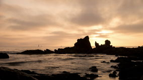 Newport Beach Sunset Time Lapse Video stock video footage