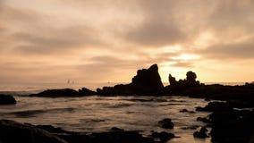 Newport Beach zmierzchu czasu upływu wideo zdjęcie wideo
