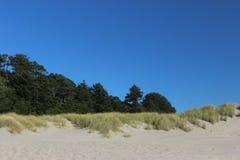 Newport beachside Oregon Stock Images