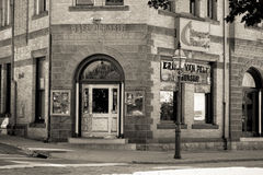 Newport Blues Cafe, Thames Street, Newport, RI. Royalty Free Stock Photos