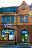 Newport Blues Cafe, Thames Street, Newport, RI. Royalty Free Stock Images