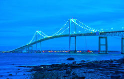 Newport bridge Stock Images