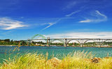 The Newport Bridge Royalty Free Stock Photo