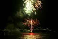 Newport bridge Royalty Free Stock Photos