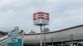Newport British Rail sign stock images