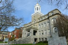 Newport City Hall, Rhode Island, USA Stock Image