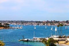 Newport-Hafen Lizenzfreie Stockfotografie