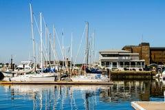 Newport hamn, Newport, Rhode - ö Arkivbild