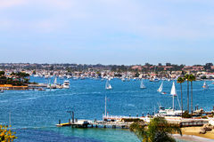 Newport Harbor Royalty Free Stock Photography