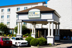 The Newport Harbor Hotel and Marina, Newport, RI. Royalty Free Stock Photos