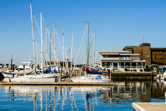 Newport Harbor, Newport, Rhode Island Stock Photography