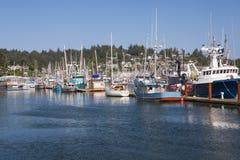 Newport-Jachthafen Lizenzfreies Stockbild