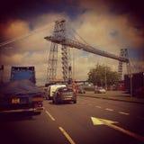 Newport-Ladebrücke Lizenzfreie Stockbilder