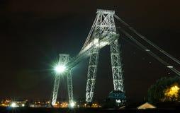 Newport-Ladebrücke Stockbild