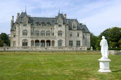 Newport Mansion Stock Image