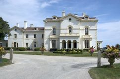 Newport Mansion stock photo
