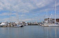 Newport marina, RI Royaltyfri Bild