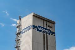 Newport Mills Limited, fabricante de alimentações de NUTRAMIX fotografia de stock
