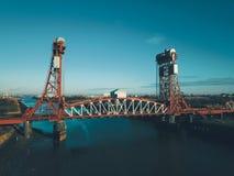 Newport most Middlesbrough fotografia stock
