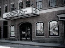 Newport operahus på Touro St Newport, RI Fotografering för Bildbyråer