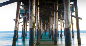 Newport Pier Royalty Free Stock Photography