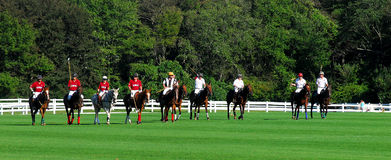 Newport Polo Club v. Tiverton Polo Club Royalty Free Stock Photography