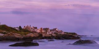 Newport Rhode Island Sunset Fotografering för Bildbyråer