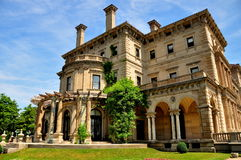 Newport, RI: 1895 The Breakers Mansion Stock Photography