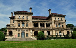 Newport, RI: 1895 The Breakers Mansion Royalty Free Stock Images