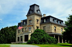 Newport, RI: Chateau-sur-Mer Mansion Royalty Free Stock Photo