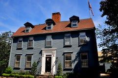 Newport, RI: Eastons Punkt-18. Jahrhundert Haus Lizenzfreie Stockbilder