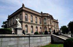 Newport, RI: 1901 The Elms Mansion Royalty Free Stock Photo