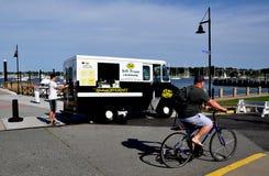 Newport, RI: Frozen Lemonade Truck at Fort Adams State Park royalty free stock photography
