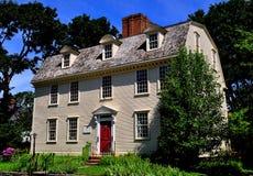 Newport, RI: La taberna principal 1724 de Pitt Foto de archivo
