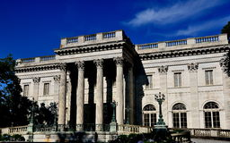 Newport, RI: 1892 Marble House Stock Image