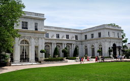 Newport, RI: Rosecliff Mansion Royalty Free Stock Image