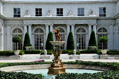 Newport, RI: Rosecliff Mansion Royalty Free Stock Photo