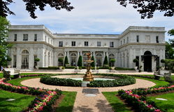 Newport, RI: Rosecliff Mansion Stock Photography