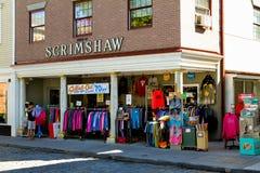 Newport, RI Souvenir store. Royalty Free Stock Image