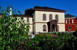 Newport RI: Touro synagoga 1763 Royaltyfria Bilder