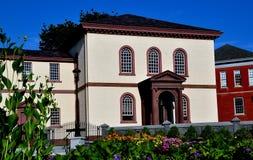 Newport, RI:1763 Touro Synagogue Royalty Free Stock Photo