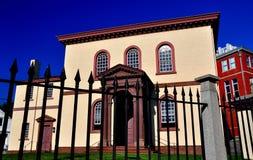 Newport, RI: 1763 Touro Synagogue Royalty Free Stock Photo