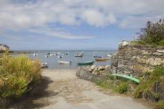 Newport sander, Pembrokeshire Arkivfoto