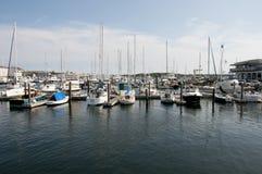Newport schronienie wyspa - usa - Rhode - Obraz Stock