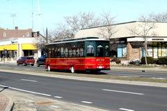 Newport spårvagn Arkivfoto
