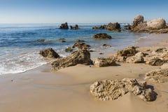 Newport strand Arkivbilder